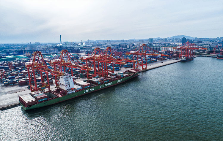 China, exports, imports