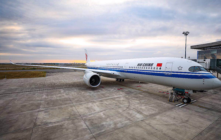Air China, Airbus A350, Shanghai