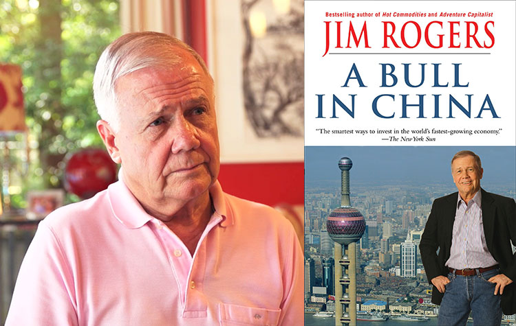 Jim Rogers, China stock,