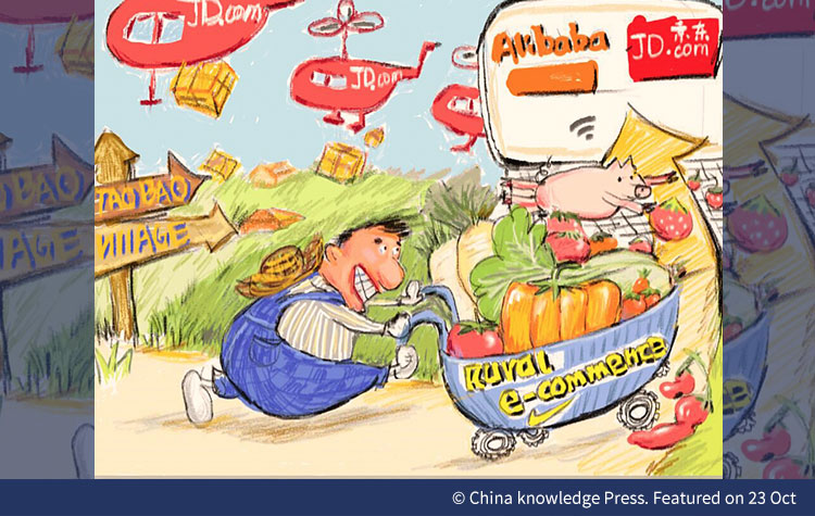 China Financial News, China News, e-commerce, Alibaba, JD.com