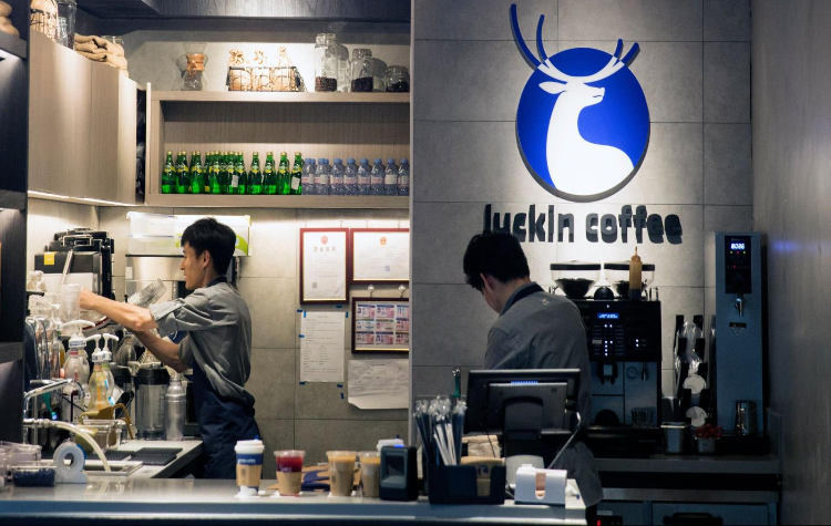 Luckin Coffee; Starbucks coffee; initial public offering