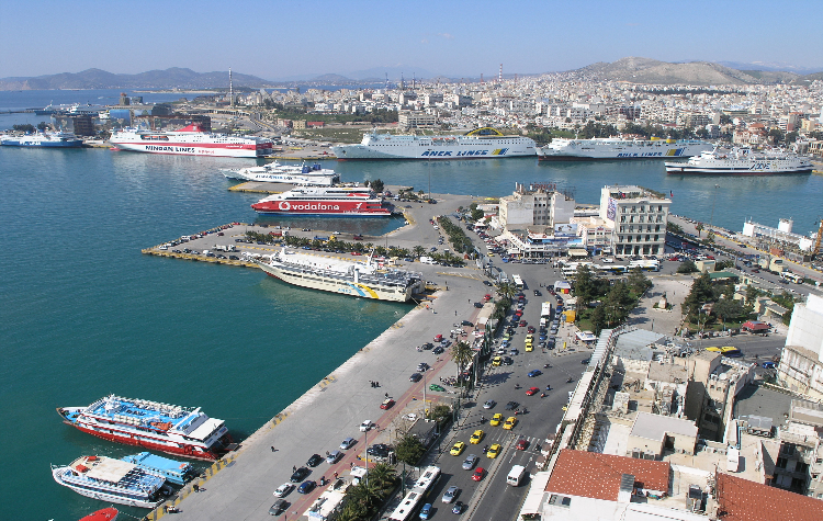Port of Piraeus; Belt and road initiative