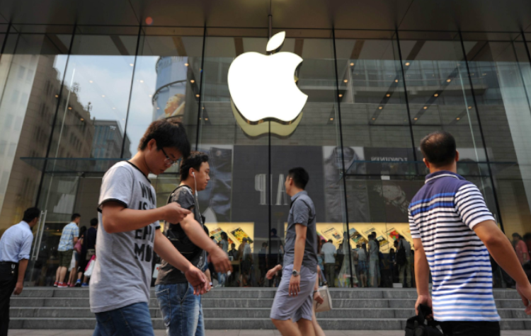 Apple China, iPhones, Trade war, US-China