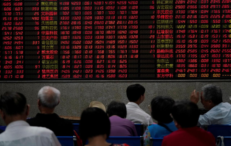 tech war; china stock market