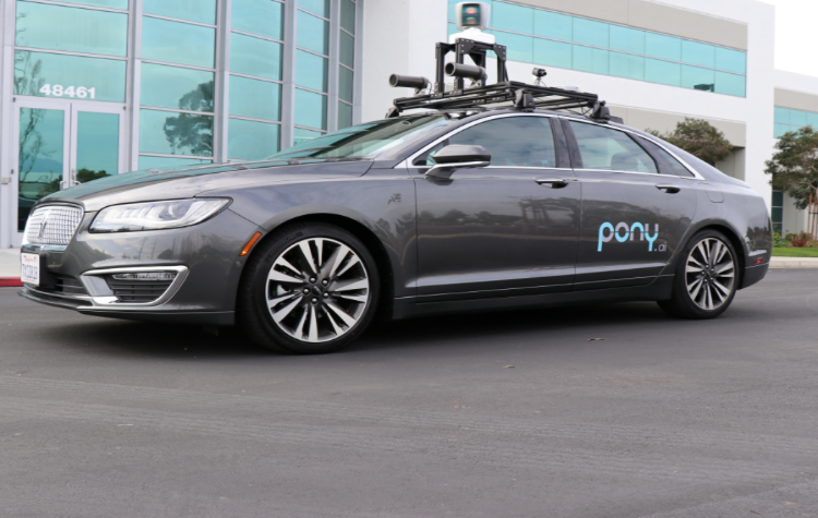 Pony.ai; autoX; autonomous driving; california