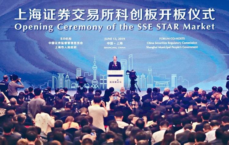 Shanghai Stock Exchange, Star Market, China-US trade war