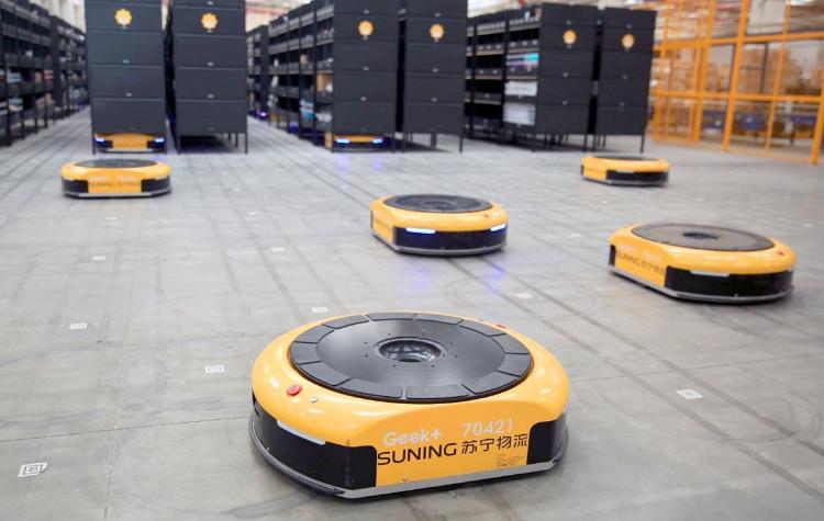 Chinese logistics robotics startup Geek+ raises USD 150 mln