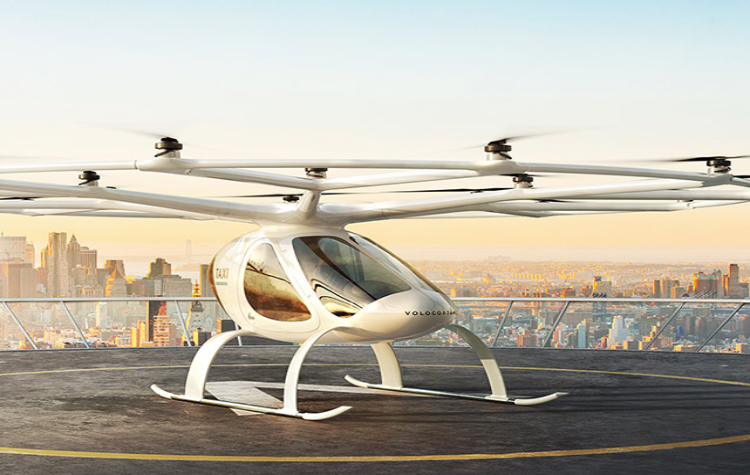 GEELY, Volocopter, Flying Car