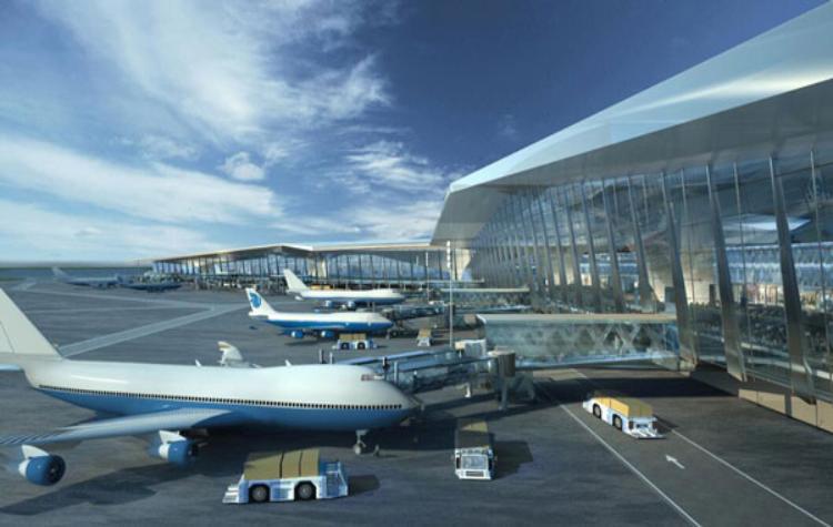 Remote terminal, Shanghai Pudong Airport