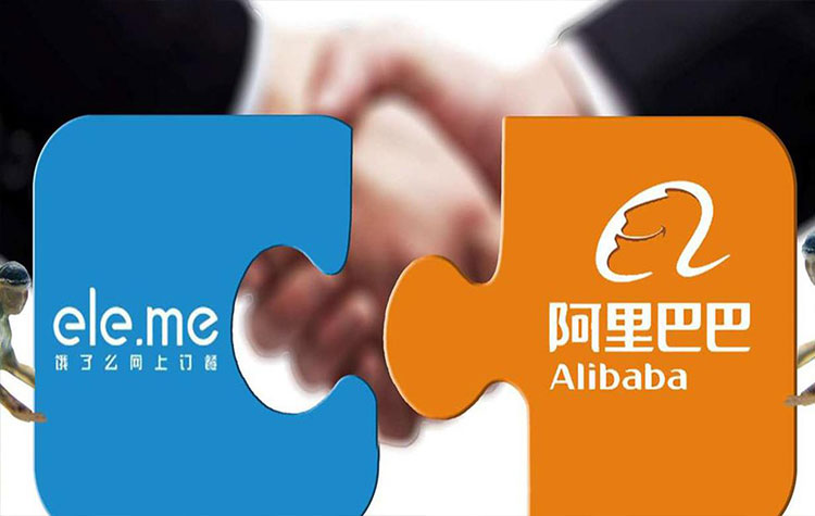 Alibaba,Ant Financial,Ele.me,Tencent